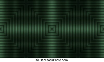 Green Stripes - Symmetric green stripes are moving from the...