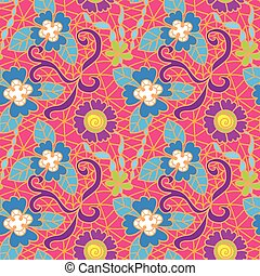 Seamless fresh vector pattern Vector illustration