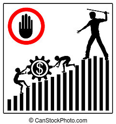 Stop Child Labor - Child laborers being abused by business...