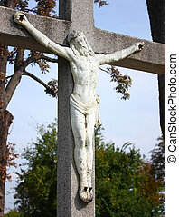 Jesus Christ crucified � symbol of Gods love