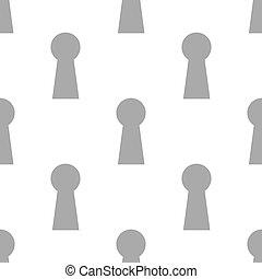 New Keyhole seamless pattern