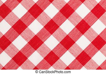 Red Table Cloth - Large Red and White Checkered Table Cloth...
