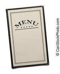 Restaurant Menu - Blank Generic Food Menu with Copy Space...