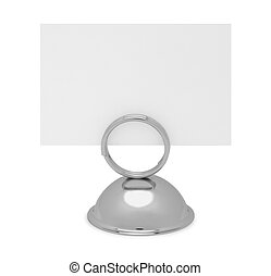 Reservation Sign - Table Top Reserved Sign Holder and Card...