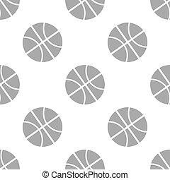 New Basketball seamless pattern