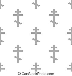New Orthodoxy seamless pattern - New Orthodoxy white and...