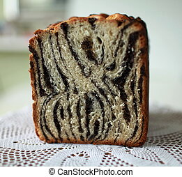 Homemade papaverous bread - Celebratory baked bread for...