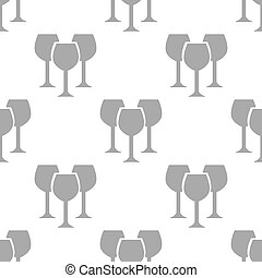New Stemware seamless pattern - New Stemware white and black...