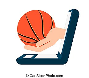basketball sport design, vector illustration eps10 graphic