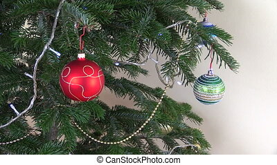 christmas tree toys - Christmas tree ball toys New Year...