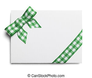 St. Patricks Day Invitation - Blank Card with Copy Space and...