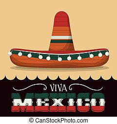 Mexico design. - Mexico / mexican culture card design,...