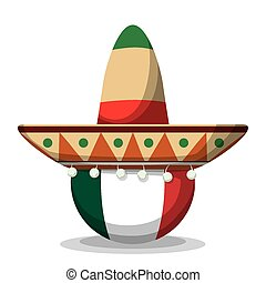 Mexico design - Mexico mexican culture card design, vector...