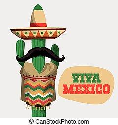 Mexico design. - Mexico / mexican culture card design,...