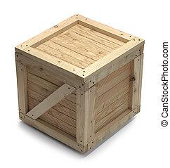 madeira, crate,