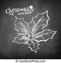 西洋ヒイラギ, クリスマス