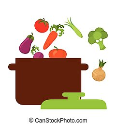 vegan food design, vector illustration eps10 graphic