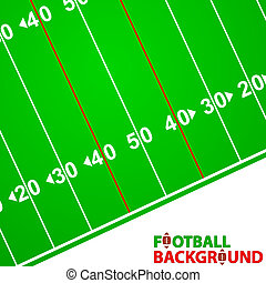 Football Background - New Football Background with space for...