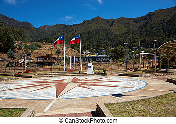 Town Square - Town square in San Juan Bautista, the only...