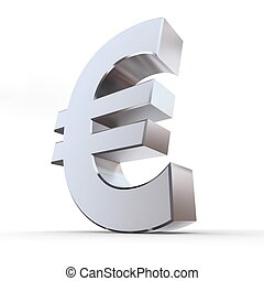 Shiny Euro Symbol