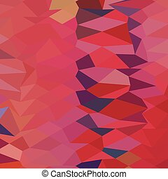 Carmine Pink Abstract Low Polygon Background - Low polygon...
