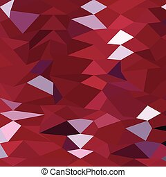 Carmine Red Abstract Low Polygon Background - Low polygon...