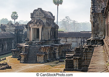 khmer culture - stone building of the khmer empire in angkor