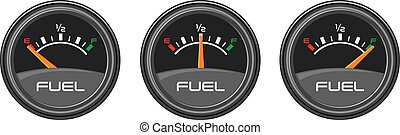Car Gauges (gas, dashboard)