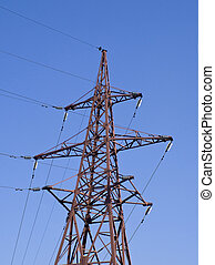 High voltage Electric line for transmission electricity