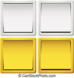 light switch abstract vector illustration eps 10