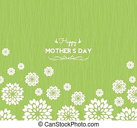 happy mother day greeting card