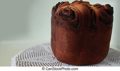 Cake with poppy seeds - Homemade Celebratory baked...