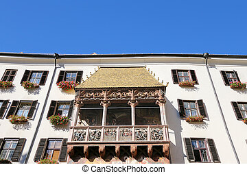 Golden Roof in Innsbruck, Austria - The famous Golden Roof...