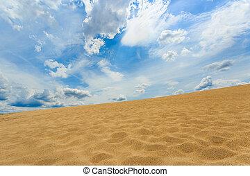 sand desert view
