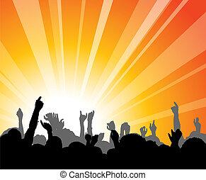 gente, concierto