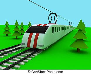 train concept