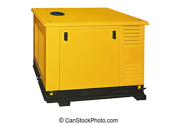 Generator isolated on a white background