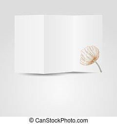 Vector paper blank brochure - Vector paper blank brochure...