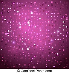 Disco background with stars. - Vector abstract background...
