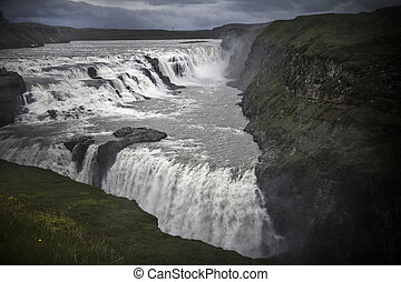 Iceland Gullfoss waterfall - Part of Iceland's 'Golden...