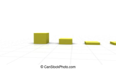 3D Growing Bar Graph. Other popular colors and styles...