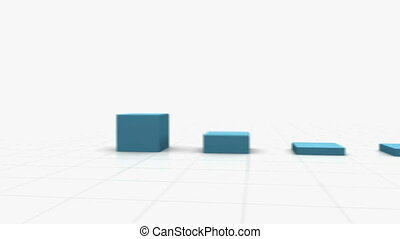 3D Growing Bar Graph Other popular colors and styles...