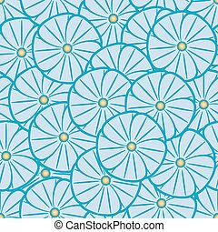 Seamless pattern - Abstract circumference seamless ornament,...