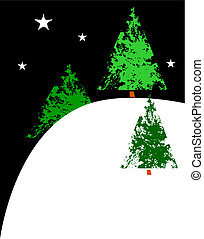 X-Mas Trees on a Hill