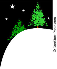 X-Mas Trees on a Hill #2