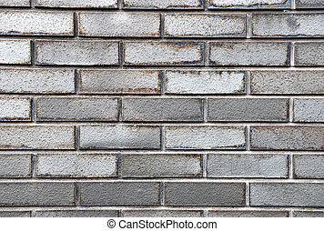 Whie brick wall texture background