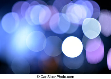 Blurred  lights of rock concert