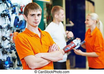 Seller assistant in shop - shop assistant seller in...