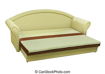 Furniture - Modern couch. Sofa for home Interior. A modern...