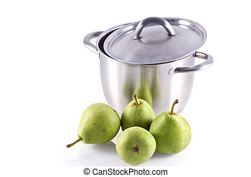 Cook some pears.
